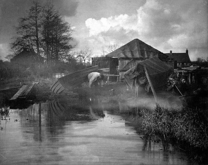Великобритания 1886 года в фотографиях Peter Henry Emerson