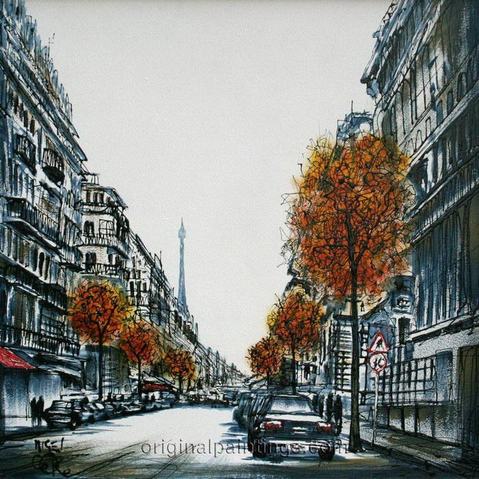 Рисунки городов мира Nigel Cooke