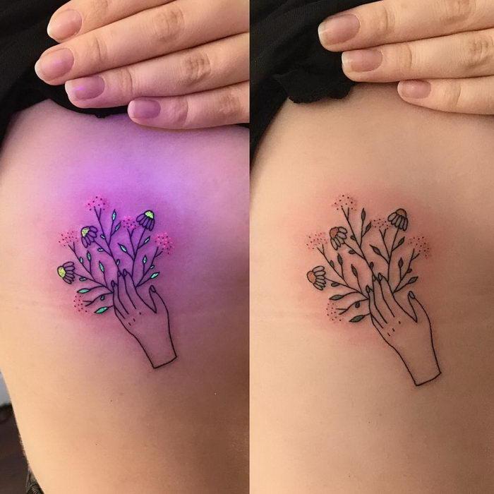 Светящиеся в темноте татуировки Tukoi Oya