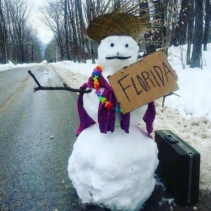 15 креативных снеговиков: пора лепить свой!