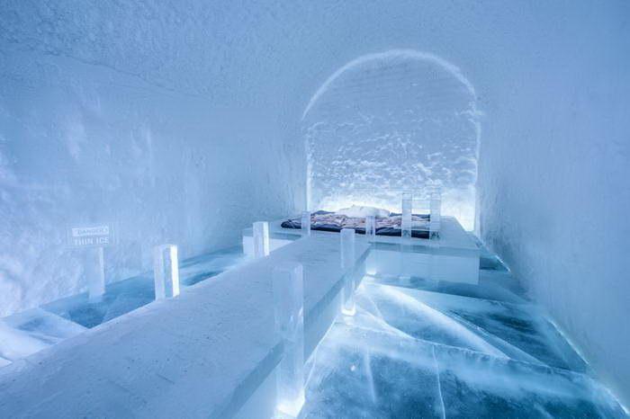 Ледяной отель 2017 года: снег и романтика