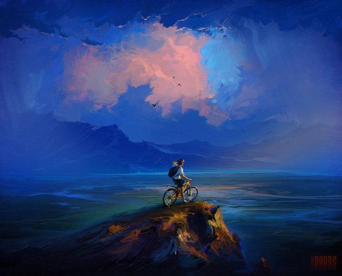 Картины Артема Чебоха