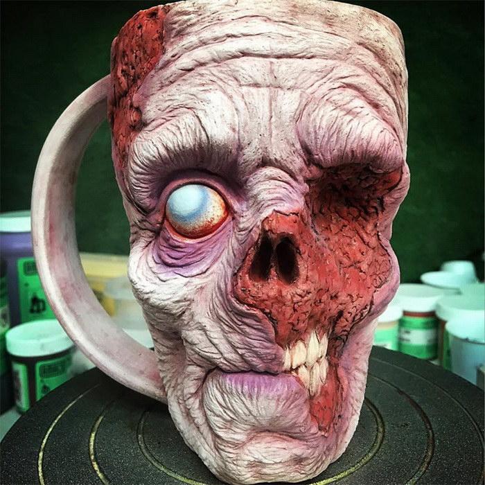 Зомби-кружки для чая Kevin Turkey Merck