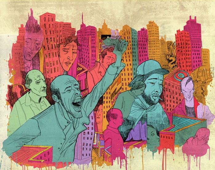 Сатирические иллюстрации Steve Cutts