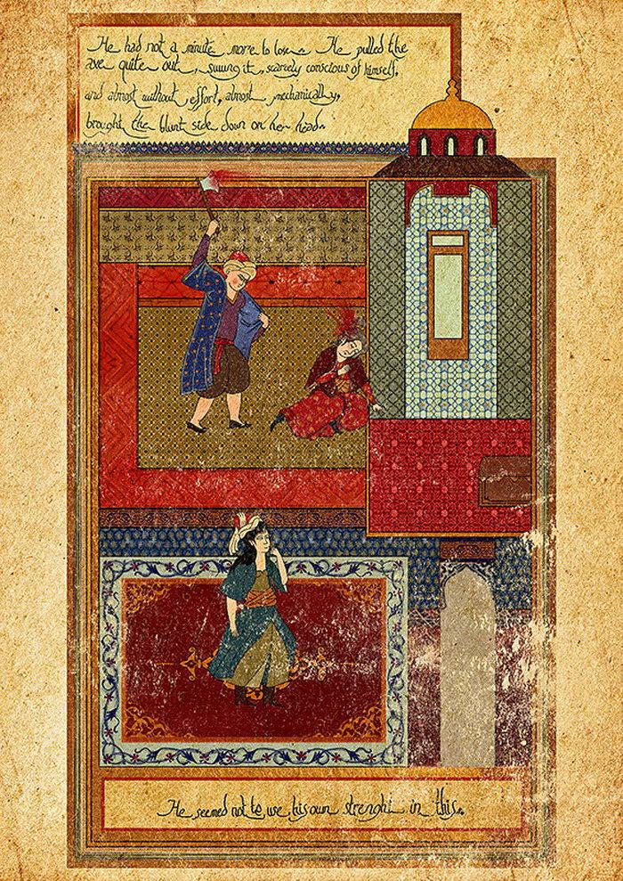 Современное кино в иллюстрациях Османской Империи: работы Murat Palta