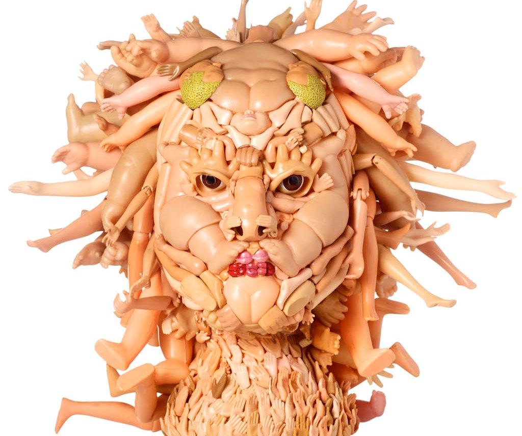 Креативные маски и скульптуры Freya Jobbins