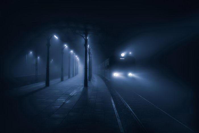 Туманный город Ополе в фотографиях Pawel Uchorczak