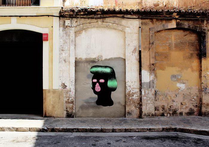 Яркие граффити Gripface