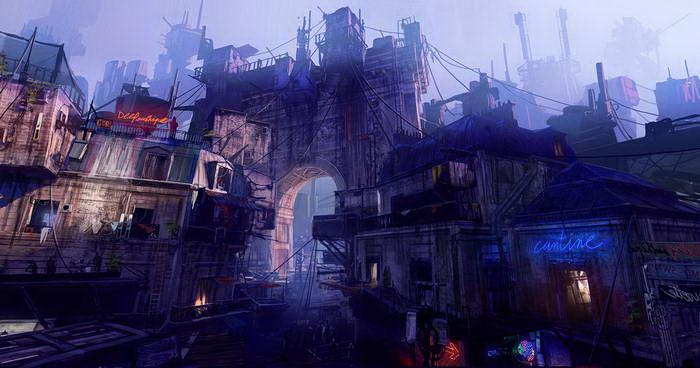 Будущее в иллюстрациях Paul Chadeisson