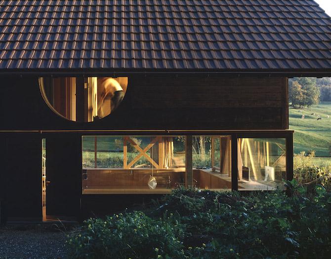Уютный дом, созданный архитектором Pascal Flammer