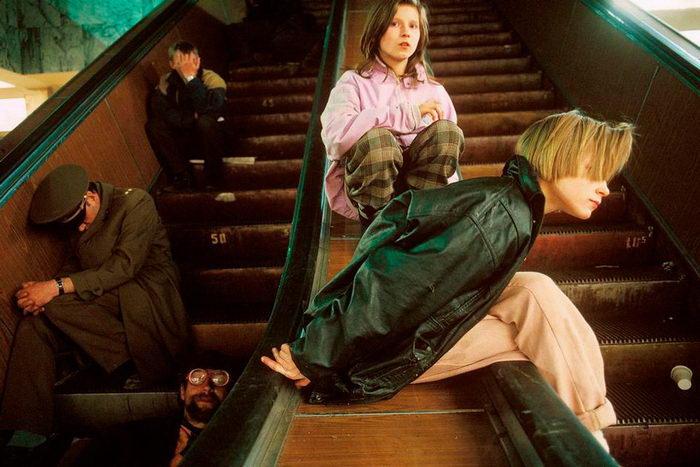 Лихие девяностые в фотографиях Lise Sarfati