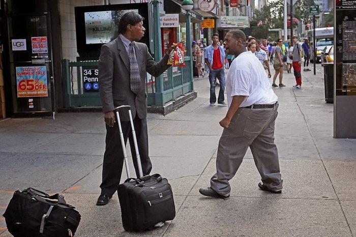 Персонажи Нью-Йорка в снимках Rich Docherty