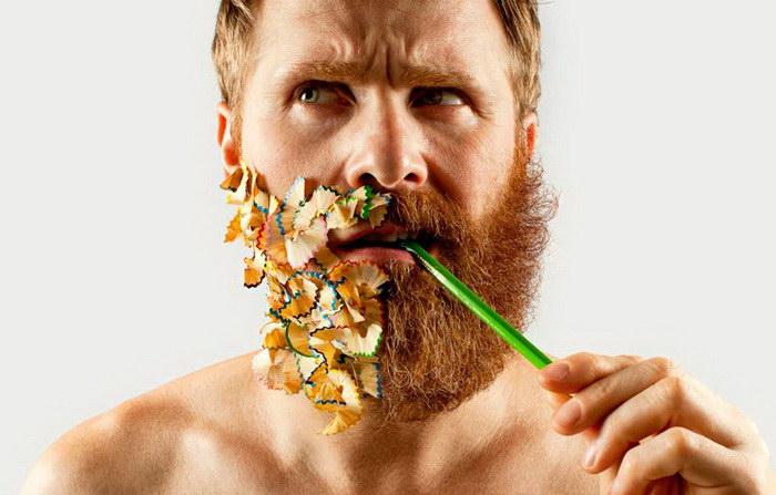 Половинчатая борода в проекте Adriano Alarcon
