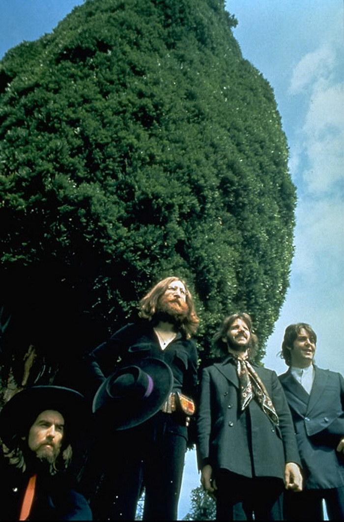 Последняя совместная фотосессия the Beatles