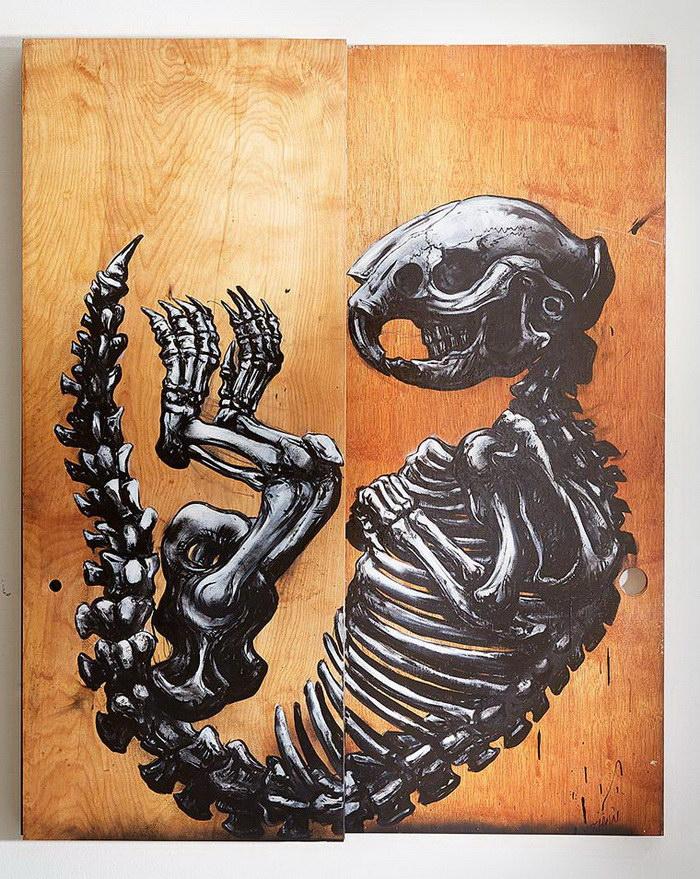 Анатомические граффити ROA