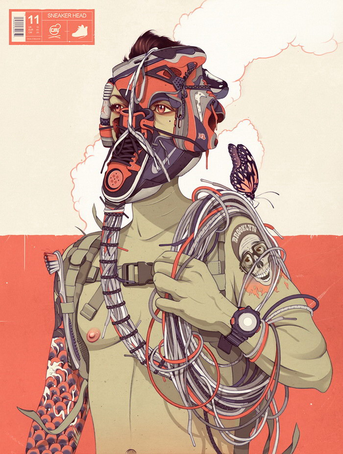 Иллюстрации Chris B. Murray