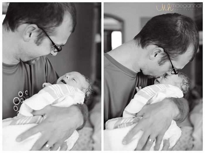 Отцы, которые впервые видят своих детей