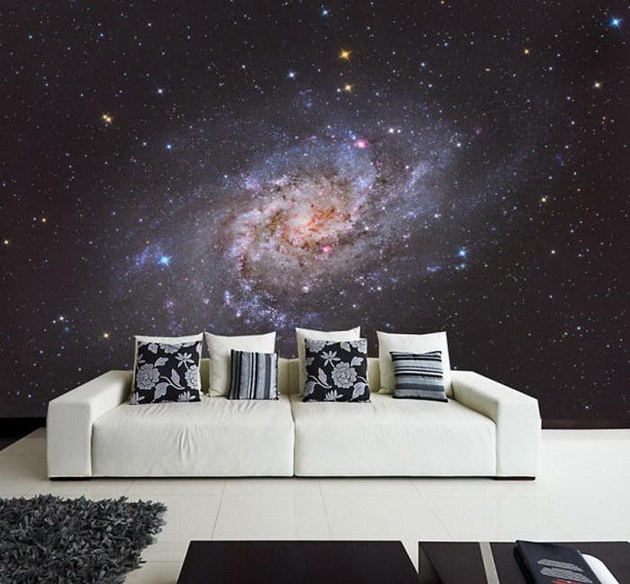 20 потрясающих космических деталей интерьера