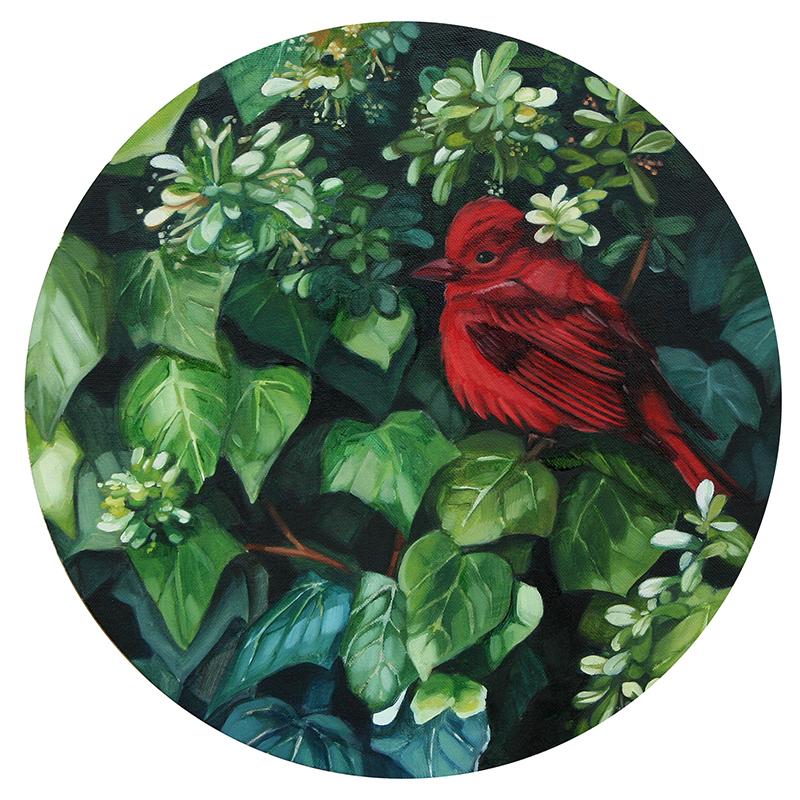 Круглые картины Lucía Rodríguez