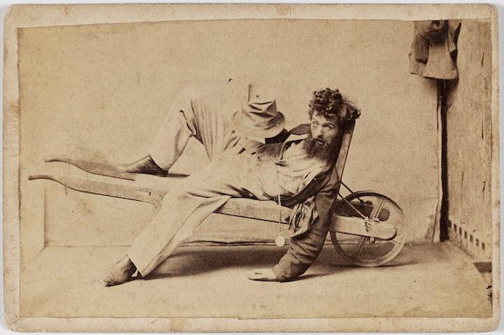 Опьянение в ретро-фотографиях