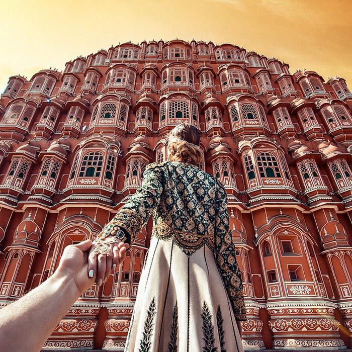 Мурад Османн и Наташа Захарова в Индии