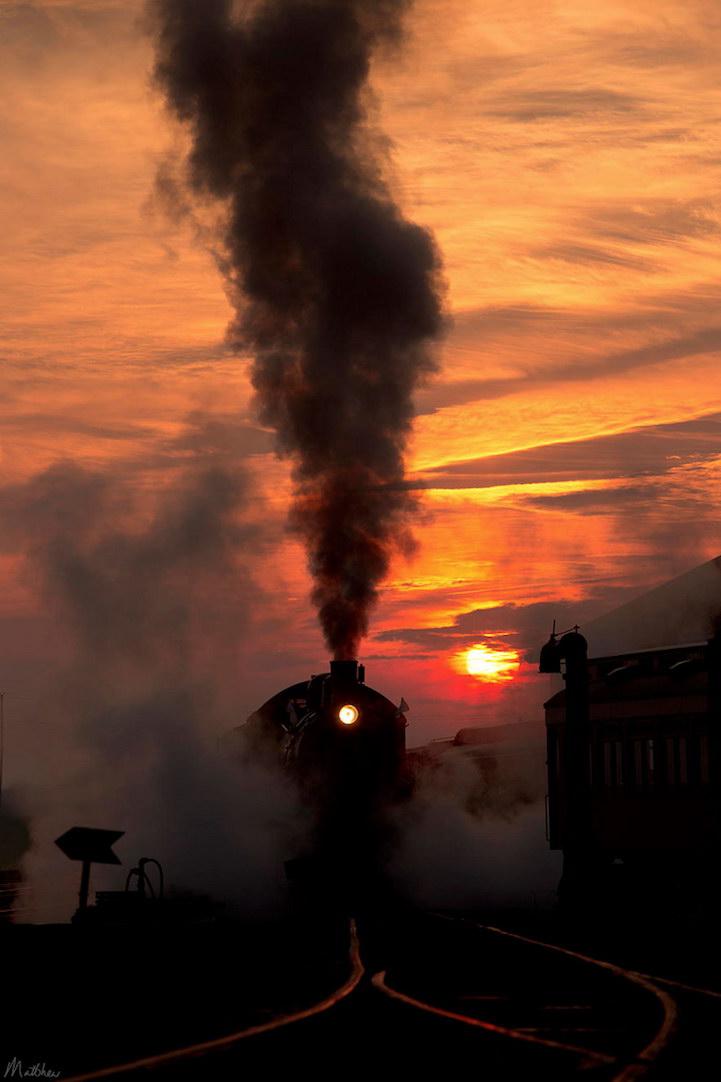 красивые картинки с поездами