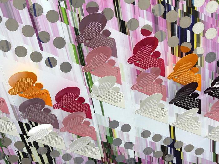 3D-инсталляция из металла Elena Manferdini
