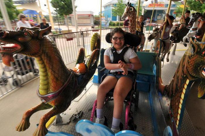Первый в мире парк развлечений для инвалидов