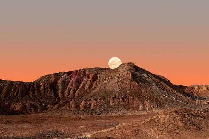 Пустынные пейзажи в фотографиях Al Mefer