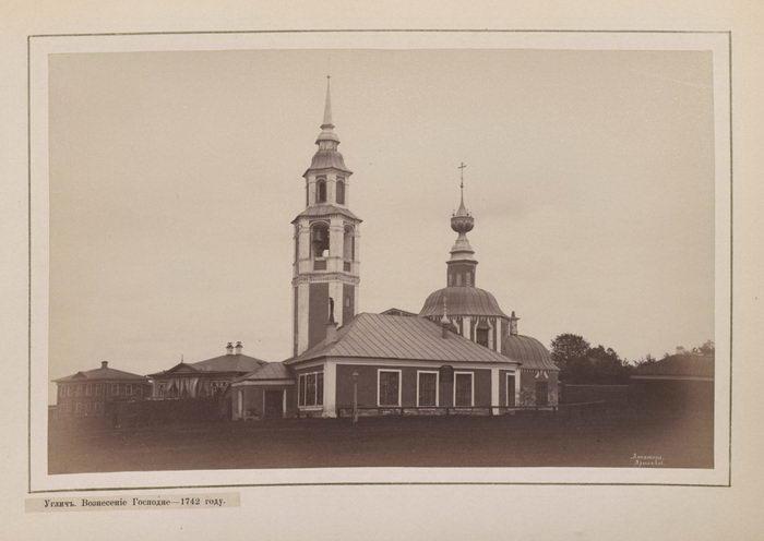 Храмы Углича в фотографиях XIX века