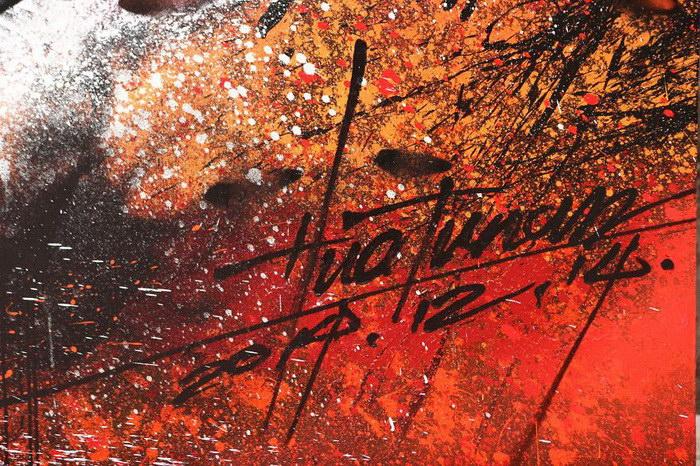 Процесс создания невероятного граффити художником Hua Tunan