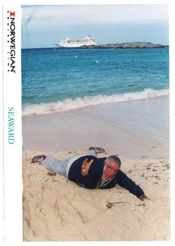 Неудачные фотографии с отдыха Ian Hugues