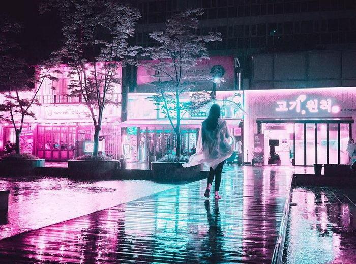 Азиатские мегаполисы в фотографиях Steve Roe