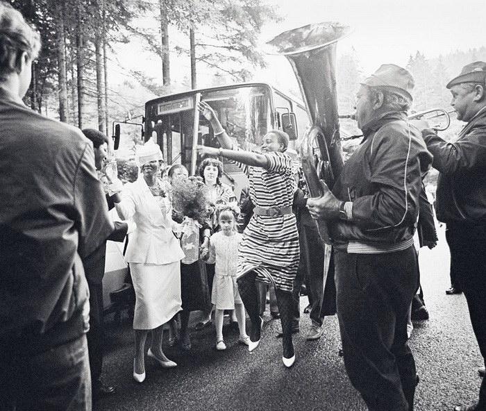 Жизнь в ГДР: фотографии Ulrich Burchert