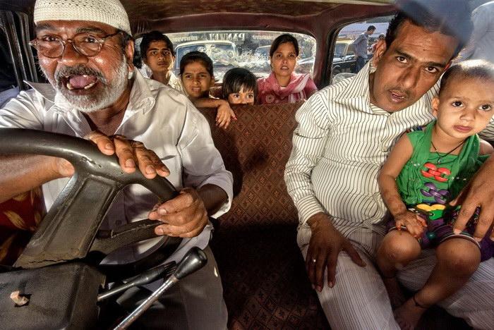 Водители индийских мегаполисов: фотографии Dougie Wallace