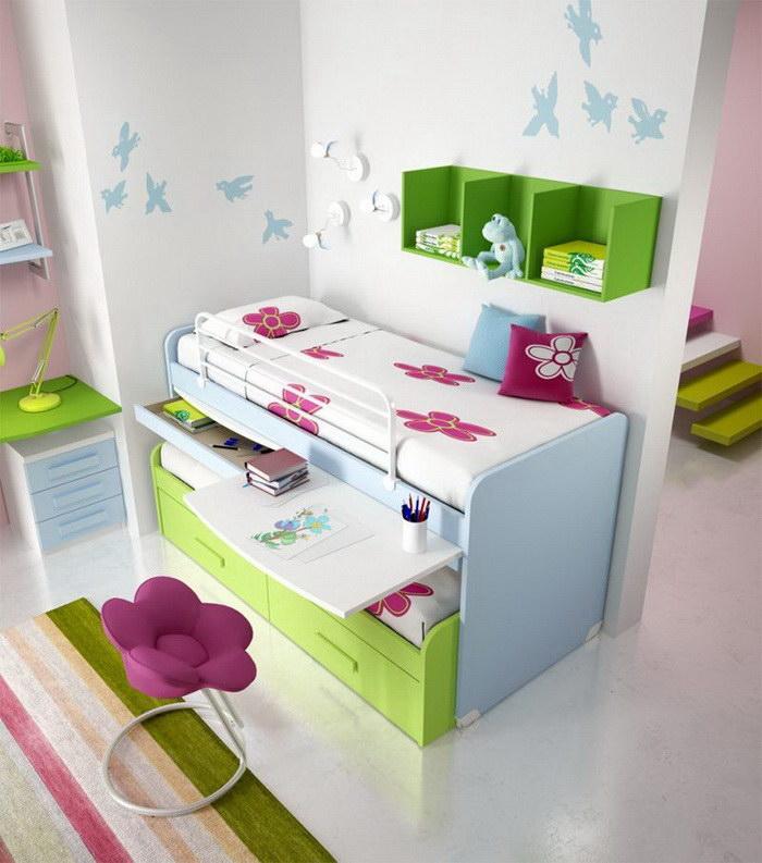 24 идеи интерьеров комнат с двухъярусными кроватями