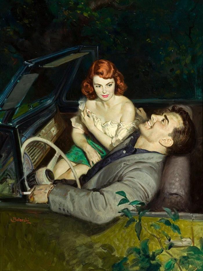 Выразительные картины Rudolph Belarski