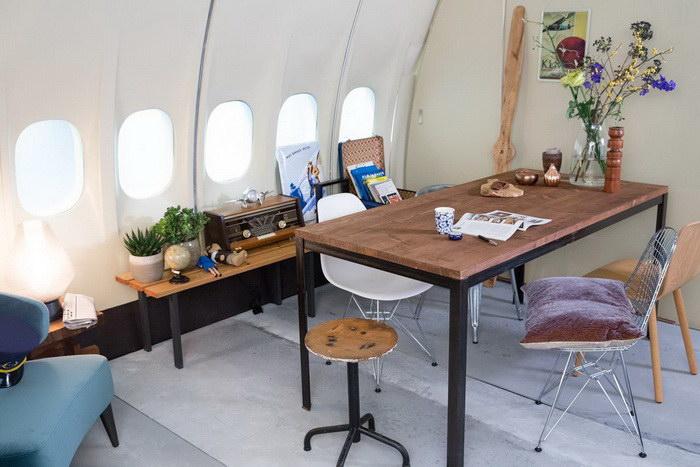 Апартаменты в самолете: жилье для любителей путешествий