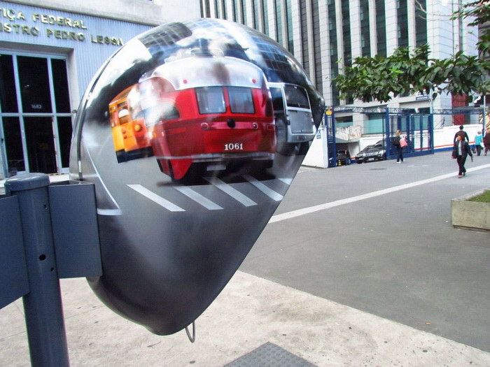 Креативные телефонные будки Сан-Паулу