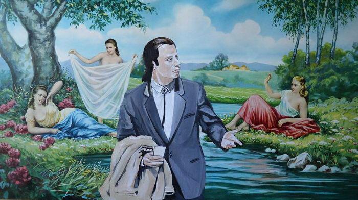Герои поп-культуры на скучных картинах: работы David Irvine