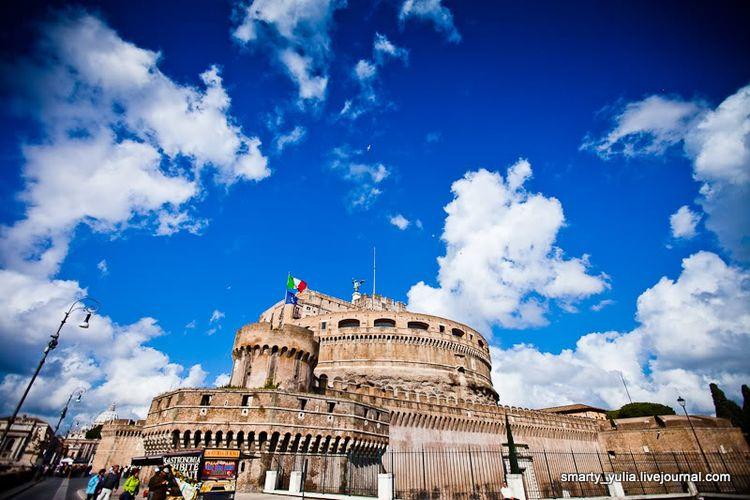 Римский Замок Святого Ангела