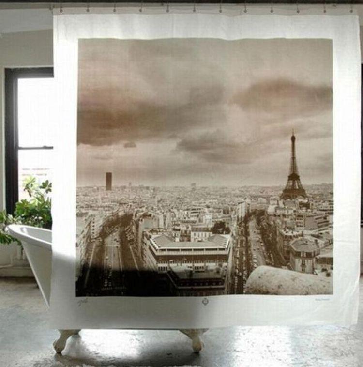 Креативные шторы для душа