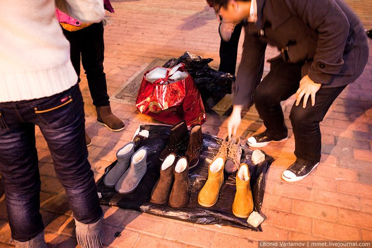 Уличная торговля в Китае: Гуанчжоу