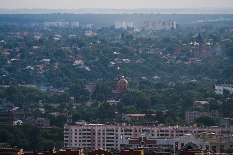 Харьков с высоты птичьего полета