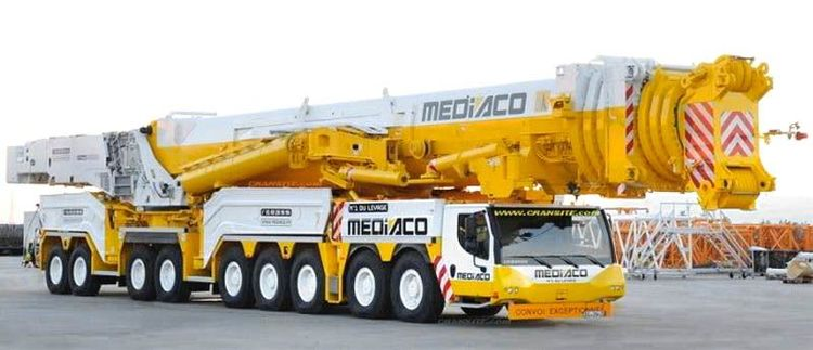 Самый высокий кран в мире LTM 11200-9.1