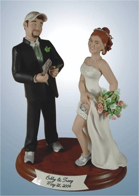 Креативный свадебный торт