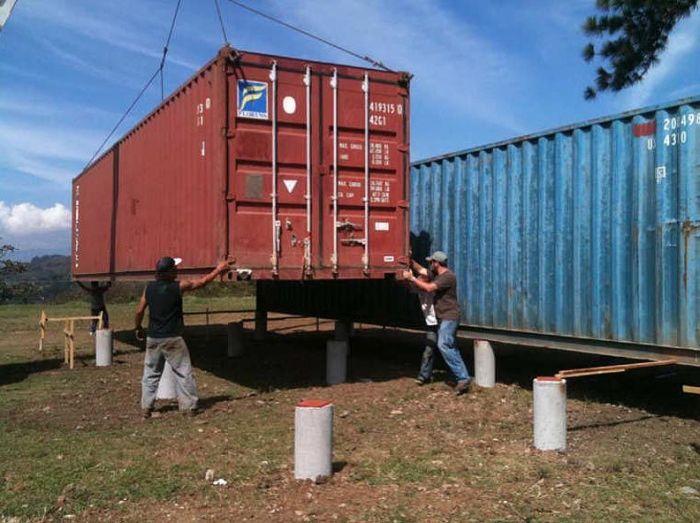 Как сделать контейнер дом