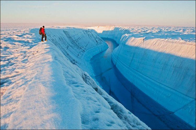 Гренландия летом
