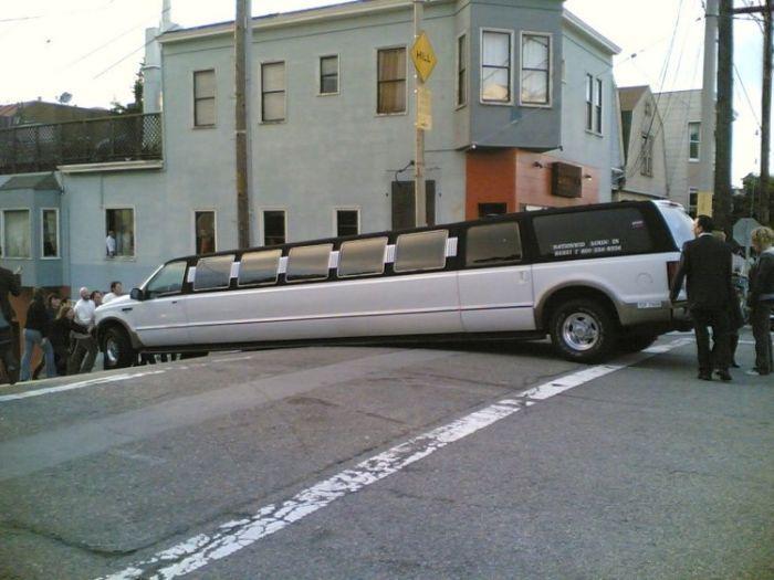 Длиннющие лимузины