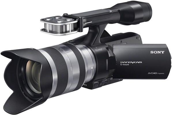 Новая видеокамера от sony nex vg20e